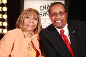 Dr. Mable John and Ron Brewington