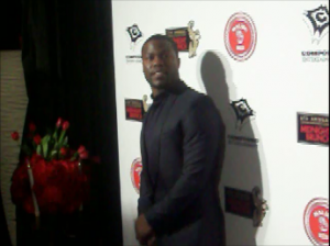 Comedian/actor Kevin Hart at Ne-yo's Grammy Midnight Brunch. (credit: Eunice Moseley