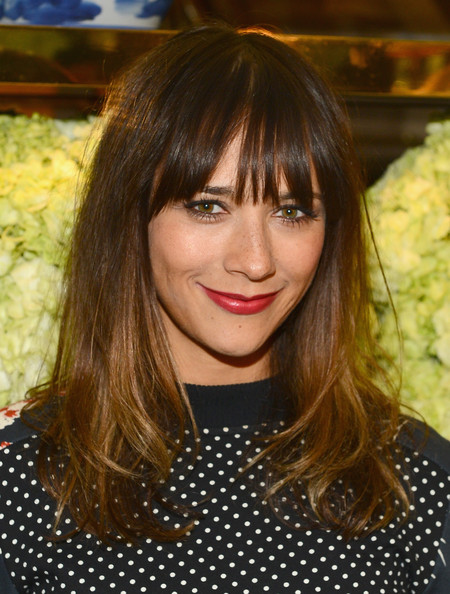 Actress Rashida Jones attends the Tory Burch Rodeo Drive Flagship Opening at Tory Burch on January 14, 2014 in Beverly Hills, California