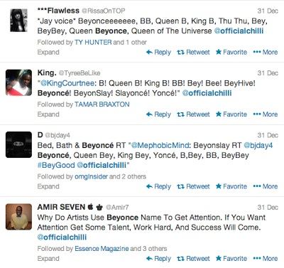 Tweets From Beyonces Fans
