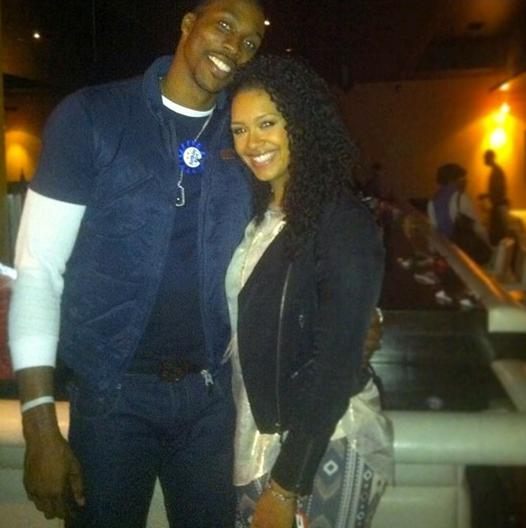 dwight howard & christine vest