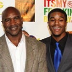 Evander Holyfield's Son Defends Dad's Remarks about Gays