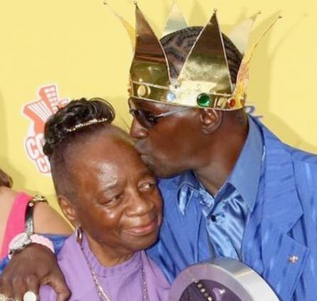flavor flav & his mother