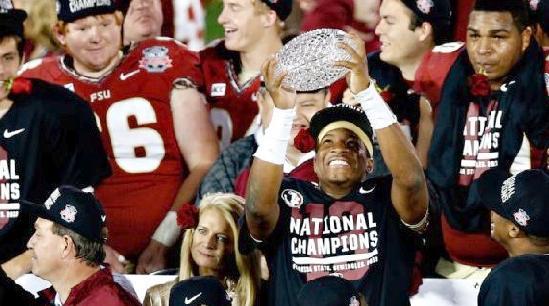 florida state - Jameis Winston (bcs champs)