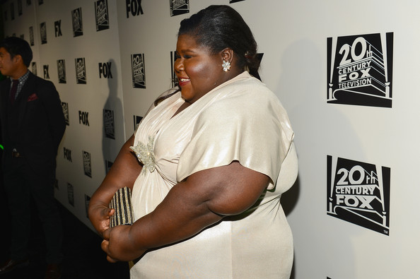 Actress Gabourey Sidibe attends the Fox And FX's 2014 Golden Globe Awards Party on January 12, 2014 in Beverly Hills