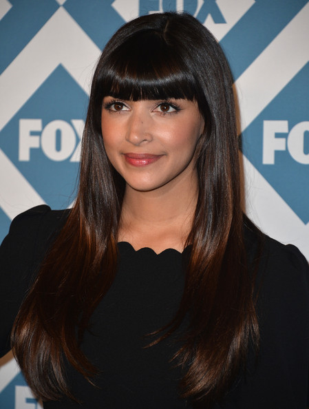 Actress Hannah Simone arrives to the 2014 Fox All-Star Party at the Langham Hotel on January 13, 2014 in Pasadena, California