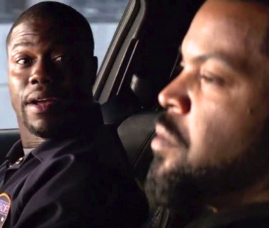 kevin hart & ice cube (ride along)