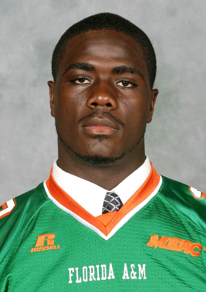 Former Florida A&M University student and football player Jonathan Ferrell, 24, is shown in this undated handout photo provided by Florida A&M University on September 15, 2013.