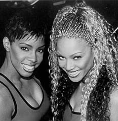 kelly rowland & beyonce