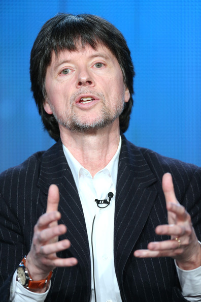 Filmmaker Ken Burns speaks onstage during the 'Ken Burns's The Address' panel discussion at the PBS portion of the 2014 Winter Television Critics Association tour at Langham Hotel on January 20, 2014 in Pasadena, California