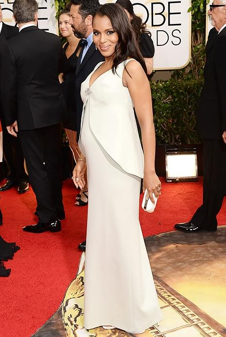 kerry washington (2014 golden globes red carpet1)