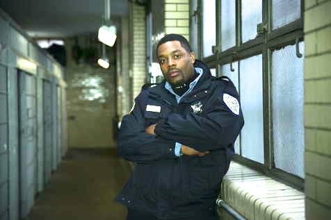 "LaRoyce Hawkins in NBC's ""Chicago P.D."""