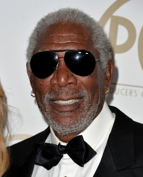 Actor Morgan Freeman attends the 25th annual Producers Guild of America Awards at The Beverly Hilton Hotel on January 19, 2014 in Beverly Hills, California