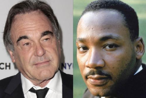 Director Oliver Stone has quit a Martin Luther King biopic following a disagreement with King's estate over how he should be portrayed.