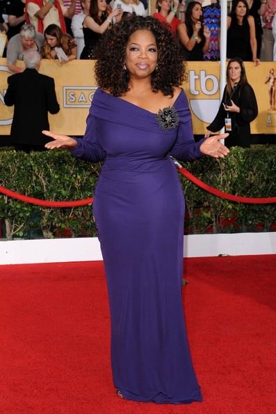 Talk-show host Oprah Winfrey is 60 today.