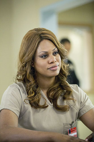 "Laverne Cox as Sophia in the Netflix Original Series ""Orange is the New Black"""