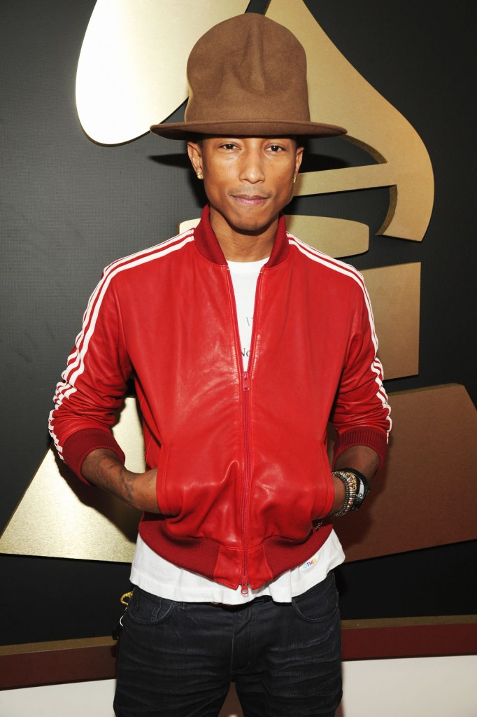 Pharrell Williams  attends the 56th GRAMMY Awards at Staples Center on January 26, 2014 in Los Angeles