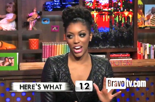 porsha watch what happens live