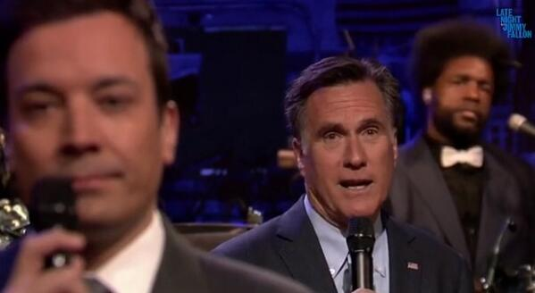 romney slow jam the news