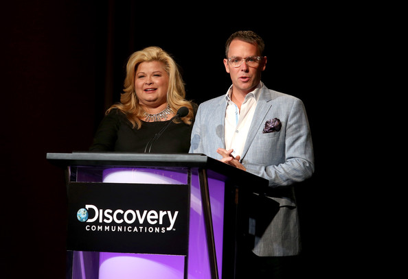 Co-Presidents, OWN: Oprah Winfrey Network, Sheri Salata (L) and Erik Logan speak onstage during the OWN portion of the 2013 Winter TCA Tour- Day 2 at Langham Hotel on January 5, 2013 in Pasadena, California