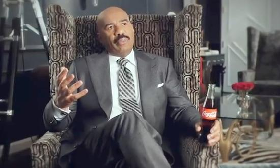 steve harvey (coke bottle)