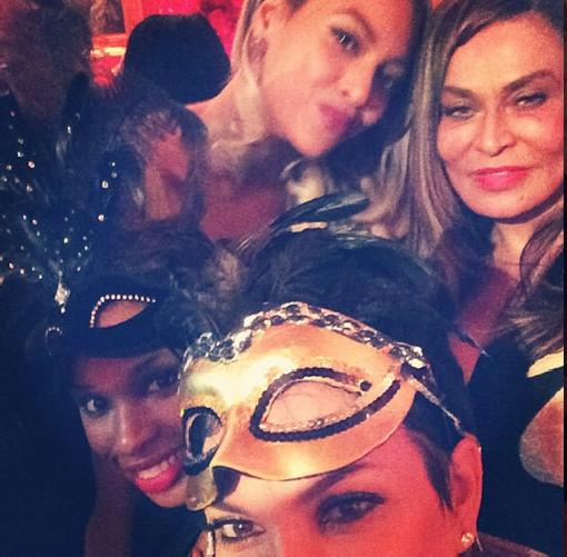 tina knowles (60th b-day-instagram)