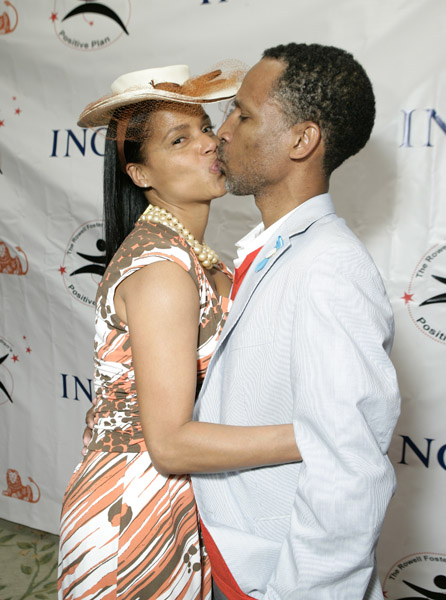 Victoria Rowell and Radcliffe Bailey in 2009