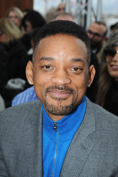 Will Smith attends the Louis Vuitton Menswear Fall/Winter 2014-2015 Show as part of Paris Fashion Week on January 16, 2014 in Paris, France