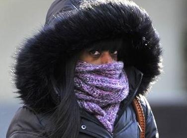 woman in fur hoodie