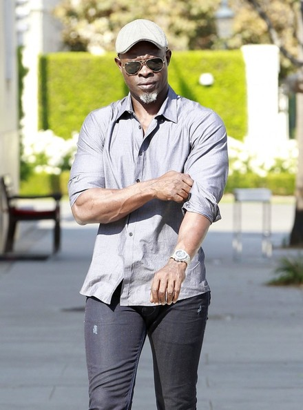 Djimon Hounsou out and about in Beverly Hills, California on August 26, 2013.