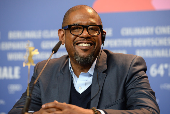 Forest Whitaker attends the 'Two Men in Town' (La voie de l'ennemi) press conference during 64th Berlinale International Film Festival at Grand Hyatt Hotel on February 7, 2014 in Berlin, Germany