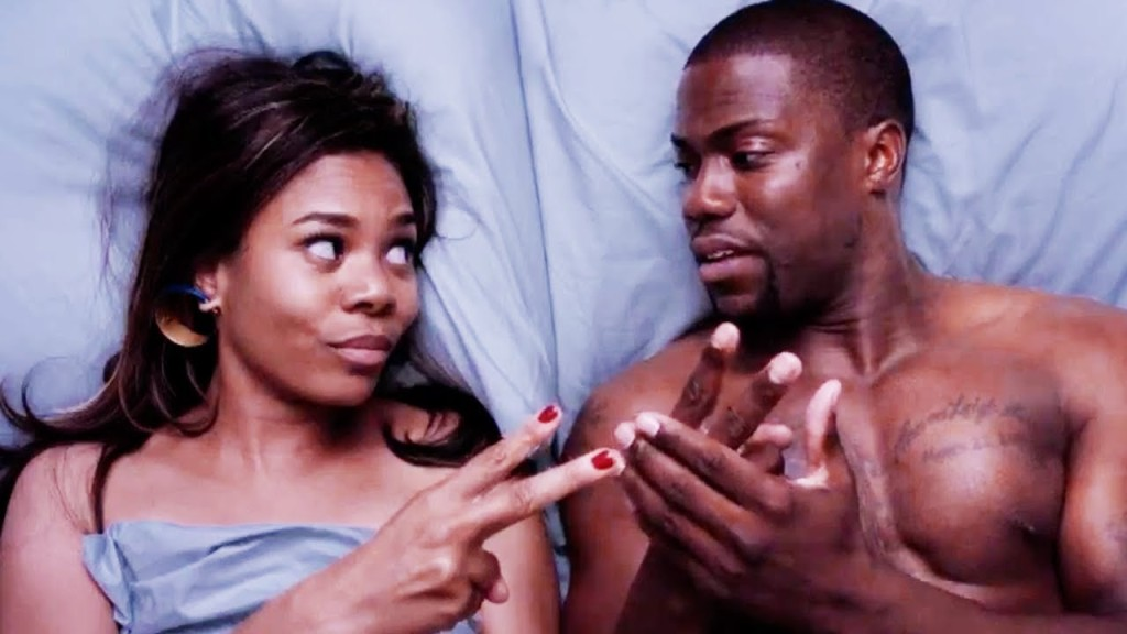 """Regina Hall and Kevin Hart in a scene from """"About Last Night"""""""