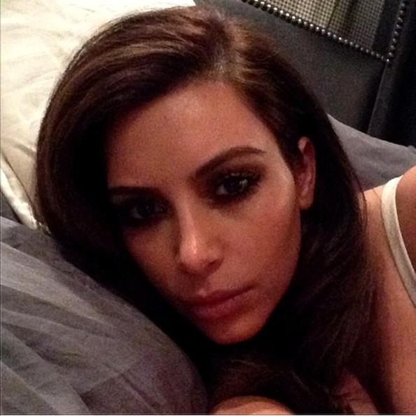 Kim-Kardashian-brunette-instagram