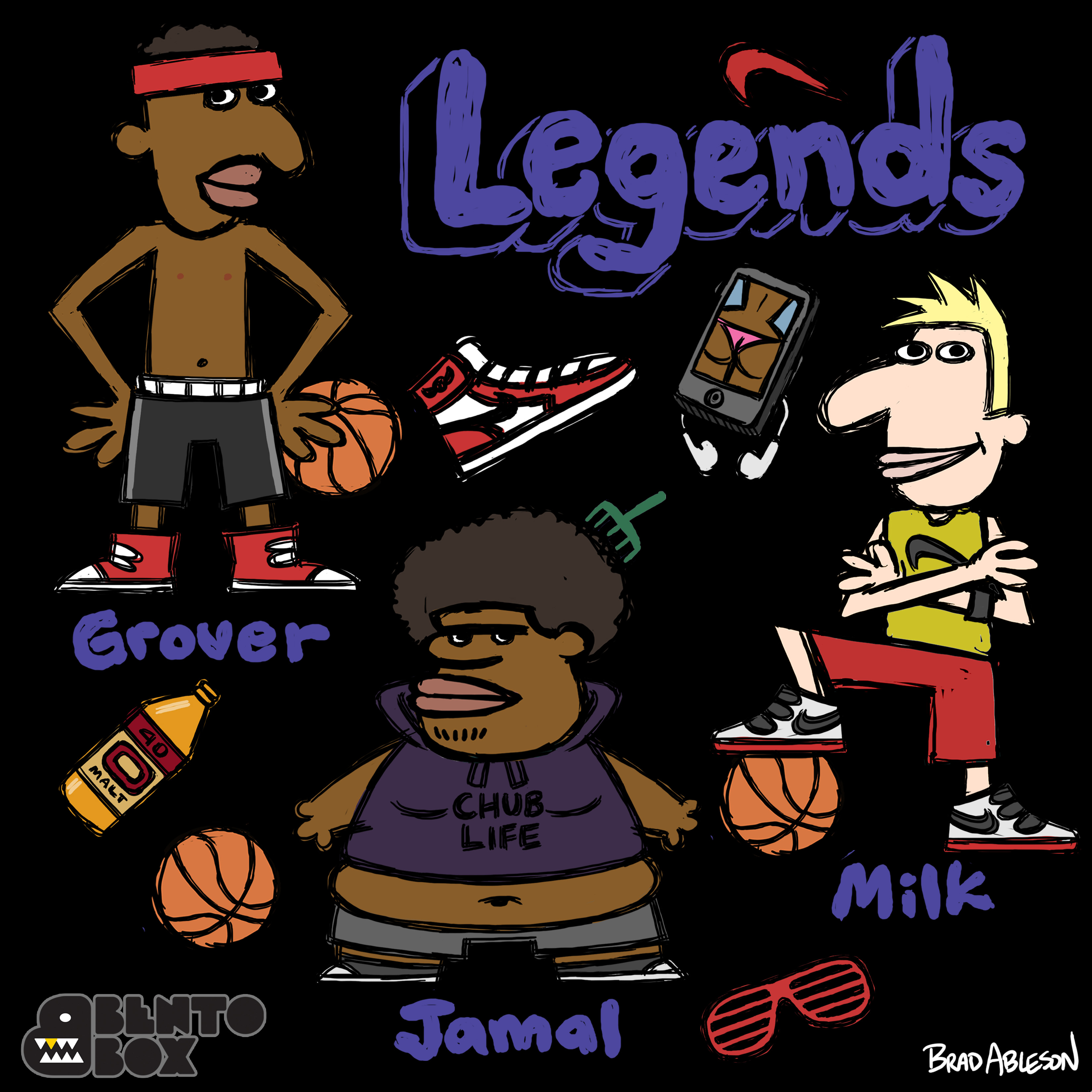 Legends-characters