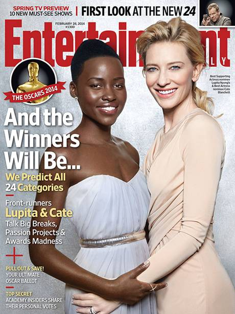 Lupita Nyong'o and Cate Blanchett
