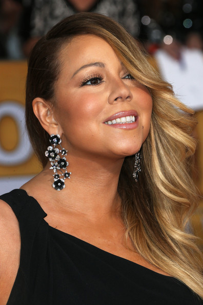 Singer-actress Mariah Carey attends the 20th Annual Screen Actors Guild Awards at The Shrine Auditorium on January 18, 2014 in Los Angeles