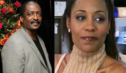 Matthew Knowles and Alexsandra Wright