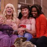 Michelle Obama Does 'Ew!' with Jimmy Fallon, Will Farrell on 'Tonight Show' (Watch)