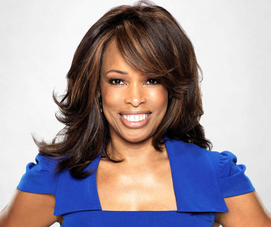 Pam Oliver Talks Hair Criticism  Game Day Prep and Double Standard For    Pam Oliver Husband