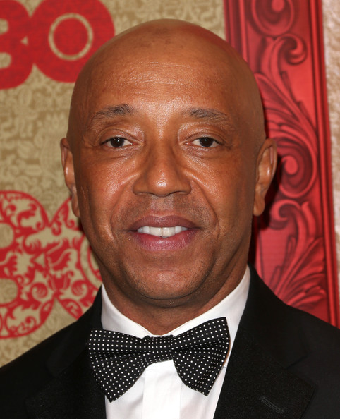 Russell Simmons attends HBO's Post 2014 Golden Globe Awards Party held at Circa 55 Restaurant on January 12, 2014 in Los Angeles