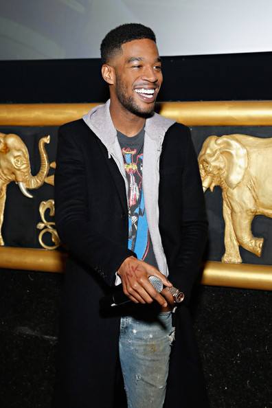 """Scott """"Kid Cudi"""" Mescudi introduces his movie 'Need for Speed' during a special screening for fans on January 29, 2014 in New York City"""