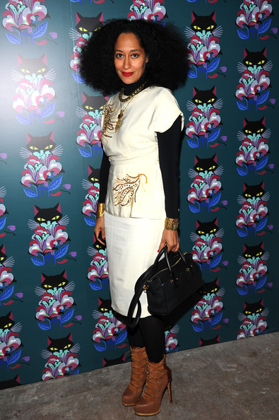 """Tracee Ellis Ross attends Miu Miu Women's Tales 7th Edition - """"Spark & Light"""" Screening - Arrivals at Diamond Horseshoe on February 11, 2014 in New York City"""