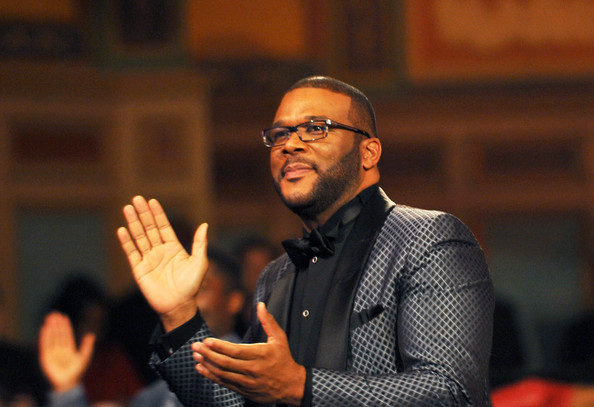 Director Tyler Perry attends the 45th NAACP Image Awards presented by TV One at Pasadena Civic Auditorium on February 22, 2014 in Pasadena, California