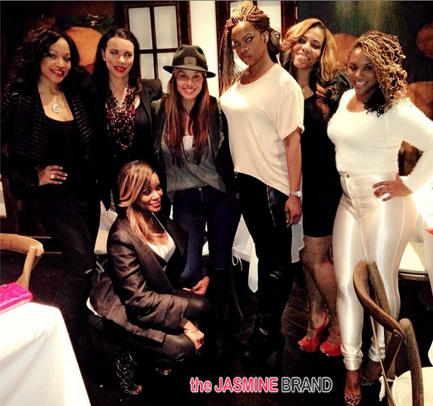 atlanta exes reality spin off-hollywood exes-dine 2014-the jasmine brand