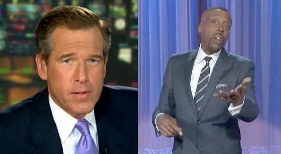 brian williams & arsenio hall