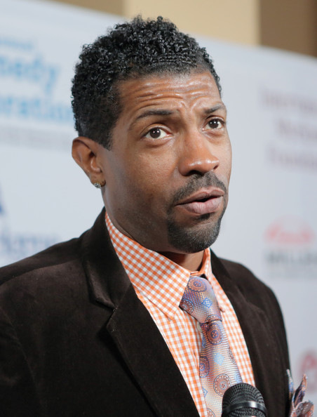 Comedian Deon Cole attends the International Myeloma Foundation's 7th Annual Comedy Celebration Benefiting The Peter Boyle Research Fund hosted by Ray Romano at The Wilshire Ebell Theatre on November 9, 2013 in Los Angeles