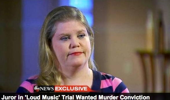 """The juror known as """"Valerie"""" tells ABC News that she wanted a first-degree murder conviction for Michael Dunn"""
