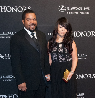 Ice Cube and his wife at BET Honors 2014 - Warner Theater, Washington DC
