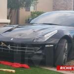 Richie Incognito Vandalizes Own Ferrari with a Baseball Bat
