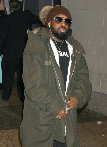 Jermaine Dupri drop by the MTV Studios in New York City, New York on February 12, 2014